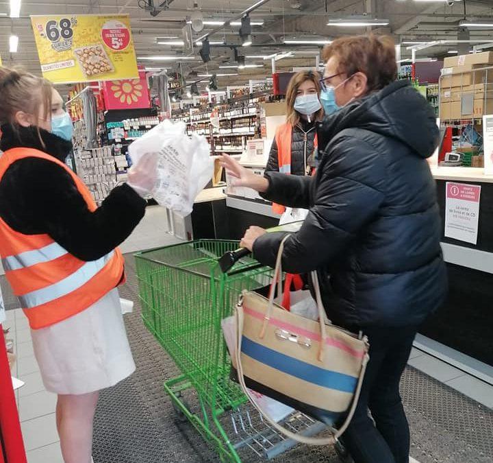 Les BAC PRO SAPAT en action solidaire avec la Banque Alimentaire