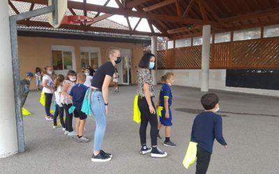 Animation des CAPA SAPVER auprès des jeunes de l'école